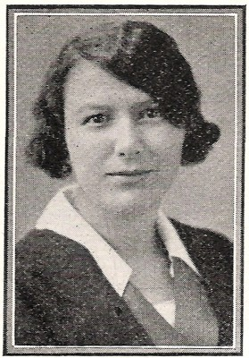 Ina Farrow Cavers, graduated from United Colleges (Manitoba College) in 1929.