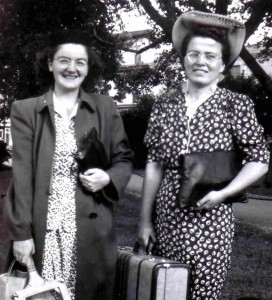 Disjoining had a big impact on the Davis family as three sisters (Gwen and Winnie pictured here) had a call to be a Deaconess